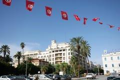 Viale Habib Bourguiba Fotografie Stock