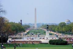 Viale nazionale, Washington DC. Fotografia Stock Libera da Diritti