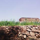 Viallage Марокко стоковое изображение