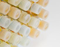 Vials - chemistry Royalty Free Stock Images