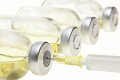 Vials and Syringe Stock Images
