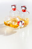 Vials of the vaccine Royalty Free Stock Photos