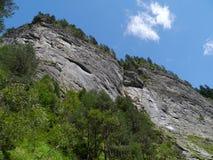 Viamala or Via Mala in Graubuenden in Switzerland Royalty Free Stock Photos