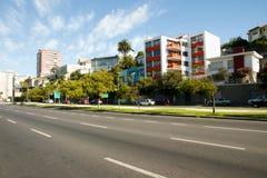 Viana Alvarez Boulevard - Vina Del Mar - Chile Stock Photo