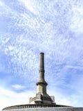 Viana do Castelo,葡萄牙 2017年8月15日:位于圣诞老人露西娅偏僻寺院的前面广场的纪念碑组成由a 库存照片