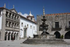 Viana do Castelo Royalty Free Stock Photography