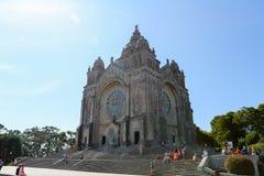 Viana do Castelo. Santa Luzia church in Viana do Castelo, Norte region, Portugal Royalty Free Stock Image