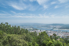 Viana do castelo view from above Royalty Free Stock Photography