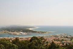 Viana faz Castelo, Portugal Foto de Stock Royalty Free