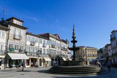 Viana gör Castelo, Portugal Arkivfoto
