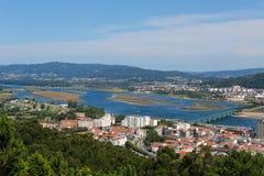 Viana hace Castelo imagenes de archivo