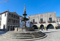 Viana hace Castelo, Portugal fotos de archivo