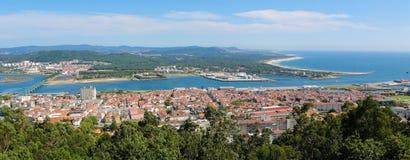 Viana tun Castelo Stockfotografie