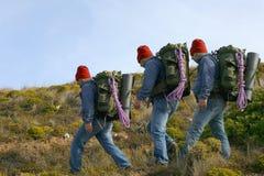Viandante/alpinista Fotografie Stock Libere da Diritti
