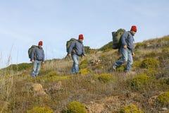 Viandante/alpinista Immagini Stock Libere da Diritti