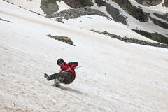 Viandante di caduta. Fotografie Stock Libere da Diritti