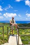 Viandante in Hawai Immagine Stock Libera da Diritti