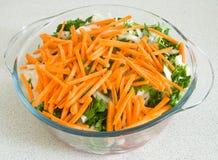 Viande avec des légumes Images libres de droits