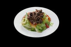 Viande avec des légumes Photos stock