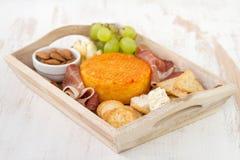 Viande avec du fromage Photo stock
