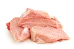 Viande crue d'un porc Image stock
