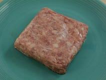 Viande crue de viande de porc hachée Photos libres de droits