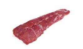 Viande crue fraîche Morceau entier de biftecks d'aloyau dans une rangée prête à Photos stock