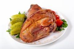 Viande cuite au four Image stock