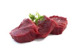 Viande d'autruche image stock