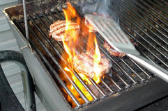 Viande de BBQ image libre de droits
