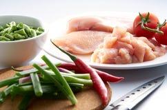 Viande de blanc de poulet Photographie stock libre de droits