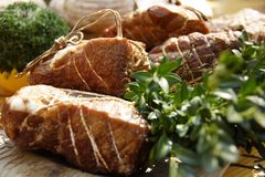 Viande de gril photo stock