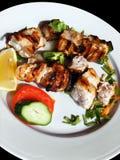 Viande de porc avec des légumes Photos libres de droits