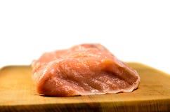 Viande de porc crue Images libres de droits