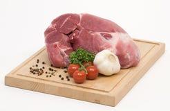 Viande de porc crue Image libre de droits