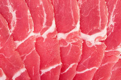 Viande de porc fraîche Image libre de droits