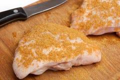 Viande de poulet Photographie stock libre de droits