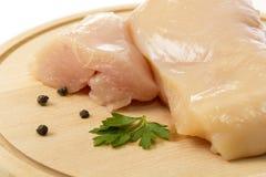Viande de poulet Photos libres de droits