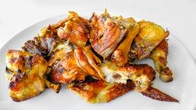 Viande de poulet, poulet r?ti, barbecue, poulet de barbecue, d?ner photographie stock