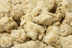 Viande de soja - nourriture végétarienne Photos libres de droits