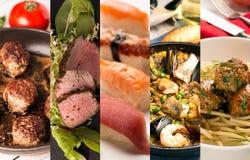 Viande et poissons juteux photo libre de droits