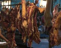 Viande fraîche de boeuf de coupe disponible pour la vente image stock