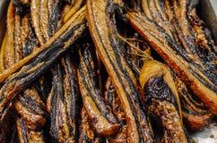 Viande fumée Photographie stock libre de droits