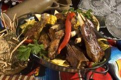 Viande grillée Photo stock