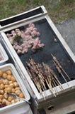 Viande grillée Image libre de droits