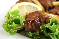 Viande grillée Photos libres de droits