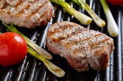 Viande grillée Photo libre de droits