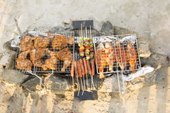 Viande grillée Images stock