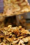Viande grillée tout entier par kebab turc Photos libres de droits