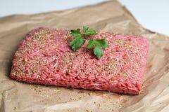 Viande hachée Photographie stock